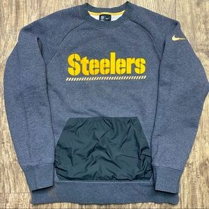 Nike Tech Pittsburgh Steelers Crewneck Sweatshirt